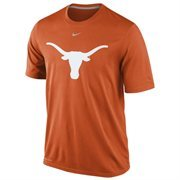 Nike Texas Longhorns Logo Legend Dri-FIT Performance T-Shirt - Burnt Orange