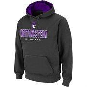 Northwestern Wildcats Charcoal Classic Twill II Pullover Hoodie Sweatshirt