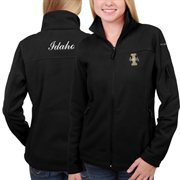 Women's Idaho Vandals Columbia Black Give & Go Full Zip Jacket