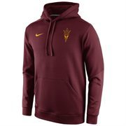 Mens Arizona State Sun Devils Nike Sideline KO Chain Fleece Therma-FIT Hoodie