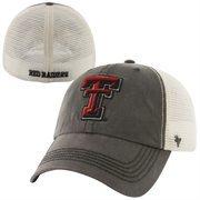 '47 Brand Texas Tech Red Raiders Caprock Canyon Logo Flex Hat - Gray/White