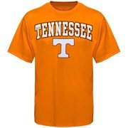 Mens Tennessee Orange Tennessee Volunteers Arch Over Logo T-Shirt