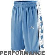 Nike North Carolina Tar Heels Authentic Basketball Performance Shorts - Carolina Blue