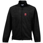 Columbia North Carolina State Wolfpack Flanker Full-Zip Fleece Jacket - Black