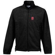 Columbia North Carolina State Wolfpack Flanker Full-Zip Fleece Jacket - Black
