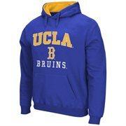 Mens UCLA Bruins True Blue Arch & Logo Mascot Pullover Hoodie