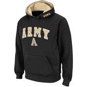 Army Black Knights Black Classic Twill II Pullover Hoodie Sweatshirt