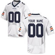 Under Armour Auburn Tigers Men's Custom Replica Jersey - White