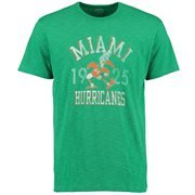 Men's '47 Brand Kelly Green Miami Hurricanes Vintage Scrum T-Shirt