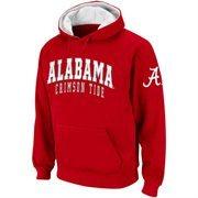 Alabama Crimson Tide Double Arches Pullover Hoodie - Crimson
