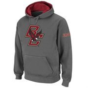 Boston College Eagles Big Logo Pullover Hoodie - Charcoal