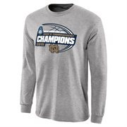 Men's  Gray Notre Dame Fighting Irish 2015 ACC Men's Basketball Conference Tournament Champions King Long Sleeve T-Shirt