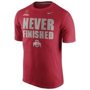Mens Ohio State Buckeyes Nike Scarlet 2015 College Football Playoff National Championship Bound
