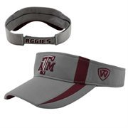 Top of the World Texas A&M Aggies Triumph Adjustable Visor - Gray