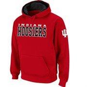 Indiana Hoosiers Pullover Hoodie Sweatshirt - Crimson