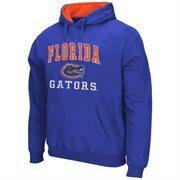 Mens Florida Gators Royal Blue Arch & Logo Mascot Pullover Hoodie