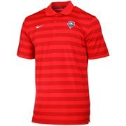 New Mexico Lobos Nike Game Time Performance Polo - Red