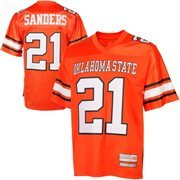 Barry Sanders Oklahoma State Cowboys #21 Retired NFL Player College Jersey - Orange