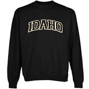 Idaho Vandals Arch Name Sweatshirt - Black