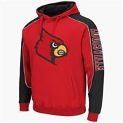 Mens Louisville Cardinals Thriller II Pullover Hoodie - Red