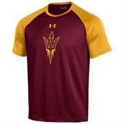 Men's Under Armour Maroon Arizona State Sun Devils Tech Performance T-Shirt
