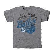 Butler Bulldogs Hoop Tri-Blend T-Shirt - Ash