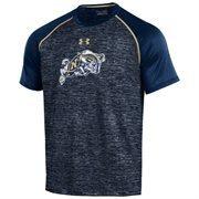 Men's Under Armour Navy Blue Navy Midshipmen SMU Tech Performance T-Shirt