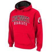Cincinnati Bearcats Double Arches Pullover Hoodie - Red