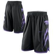 Nike Kansas State Wildcats Replica Basketball Shorts - Black