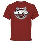 Men's Cardinal South Carolina Gamecocks 2015 NCEA Equestrian National Champions T-Shirt