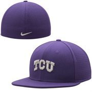 Men's Nike Purple TCU Horned Frogs Dri-FIT Vapor Authentic Fitted Hat