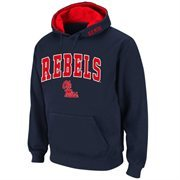 Mississippi Rebels Navy Blue Classic Twill II Pullover Hoodie Sweatshirt