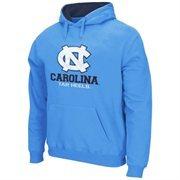 North Carolina Tar Heels Logo & School Pullover Hoodie - Carolina Blue