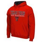 Texas Tech Red Raiders 3 Stack II Hoodie - Scarlet