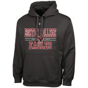 Mens Boston College Eagles Under Armour Gray Performance Hoodie