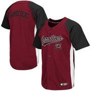 Mens South Carolina Gamecocks Garnet Dugout Baseball Jersey