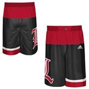 Men's adidas Black Louisville Cardinals 2015 March Madness Replica Basketball Shorts
