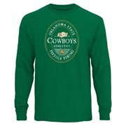 Oklahoma State Cowboys Gaelic Long Sleeve T-Shirt - Green