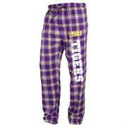 LSU Tigers Acclaim Flannel Pants - Purple