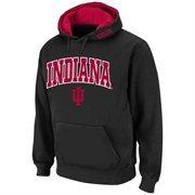 Indiana Hoosiers Arch Logo Pullover Hoodie Sweatshirt - Black