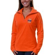 Illinois Fighting Illini Columbia Women's Glacial II Half Zip Sweathshirt - Orange