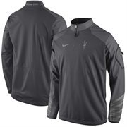 Men's Arizona State Sun Devils Nike Anthracite Sideline Fly Rush 2.0 Jacket