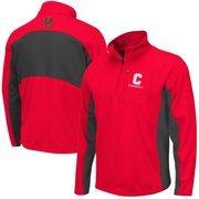 Mens Cornell Big Red Carnelian Boulder Half Zip Jacket
