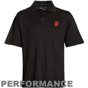 Mens NC State Wolfpack Cutter & Buck Black DryTec Championship Polo