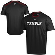 Temple Owls Under Armour Sideline Win It Performance T-Shirt - Black