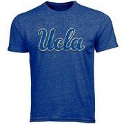 UCLA Bruins Big Logo Overtime Tri-Blend T-Shirt - True Blue