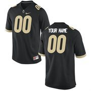 Men's Purdue Boilermakers Nike Team Color Custom Game Jersey