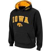Iowa Hawkeyes Black Classic Twill II Pullover Hoodie Sweatshirt