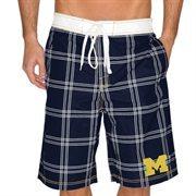 Michigan Wolverines Pop Up Boardshorts - Navy Blue
