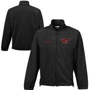 Mens Columbia Black Virginia Tech Hokies Flanker II Jacket